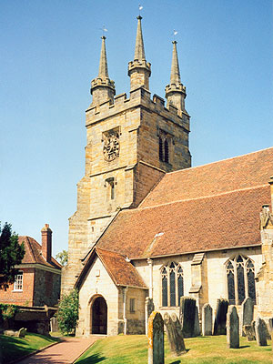 St John the Baptist Penshurst North West Kent Family History Society
