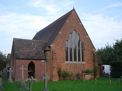 St John the Divine Dunton Green North West Kent Family History Society