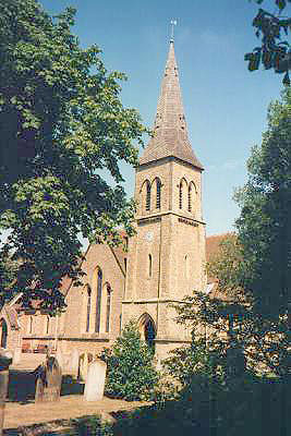 St John the Evangelist Tonbridge North West Kent Family History Society