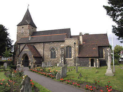 St Mary the Virgin St Mary Cray North West Kent Family History Society
