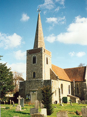 St Peter & St Paul Teston North West Kent Family History Society