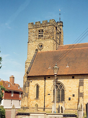 St Peter & St Paul Tonbridge North West Kent Family History Society