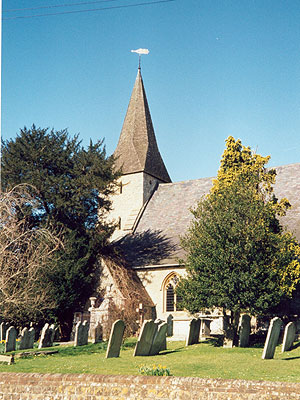 St John the Baptist Wateringbury North West Kent Family History Society