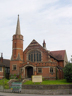 Baptist Chelsfield North West Kent Family History Society