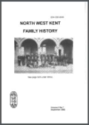 North West Kent Family History Society Journals