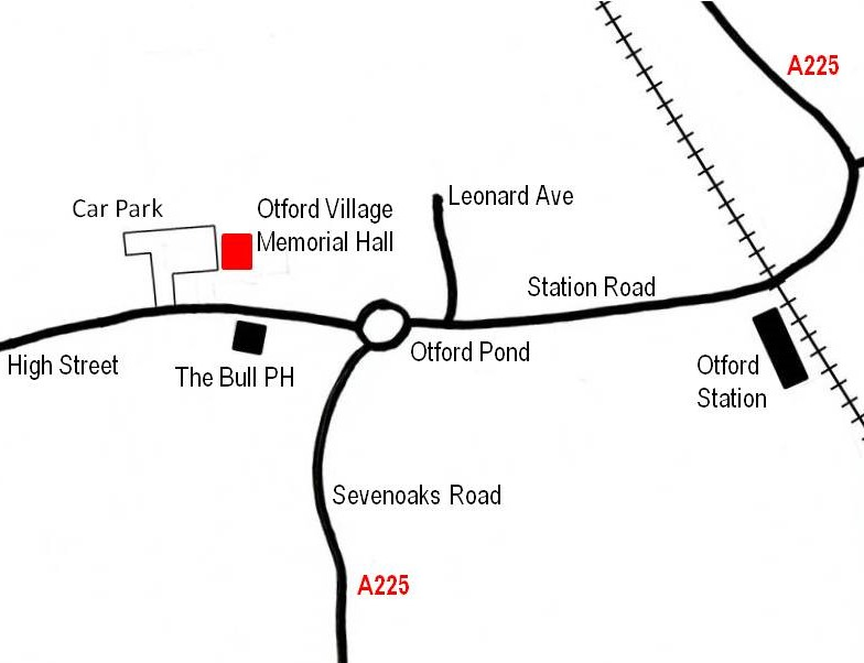 Sevenoaks Branch Map