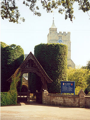 All Saints.Brenchley North West Kent Family History Society